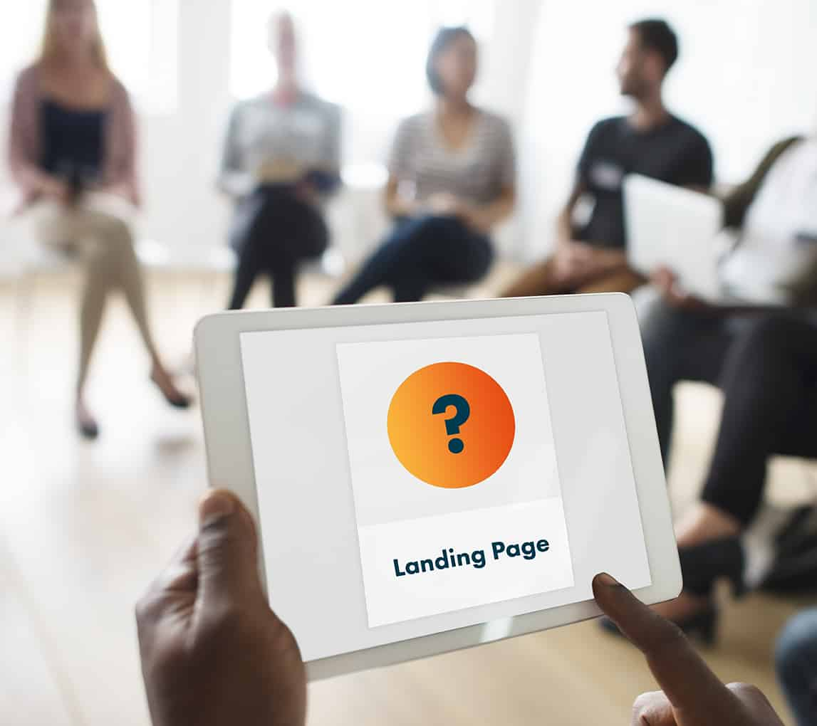 Do you need a landing page image