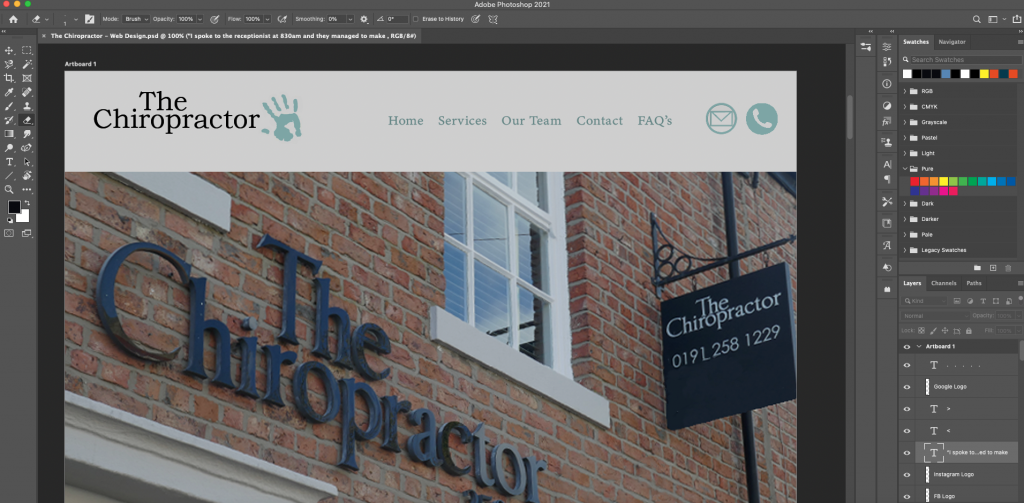 Webdesign-Case-Study-Photoshop-Design
